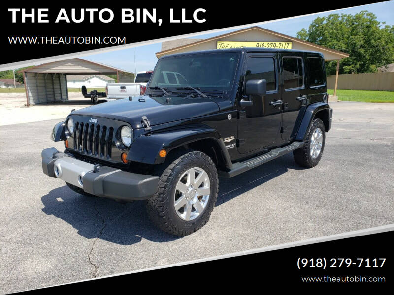 2013 Jeep Wrangler Unlimited for sale at THE AUTO BIN, LLC in Broken Arrow OK