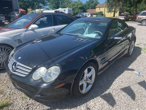 2004 Mercedes-Benz SL-Class for sale at Trocci's Auto Sales in West Pittsburg PA