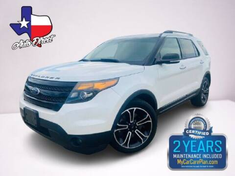2014 Ford Explorer for sale at AUTO DIRECT in Houston TX
