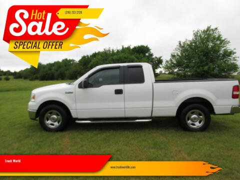 2006 Ford F-150 for sale at Truck World in Augusta KS