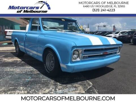 1968 Chevrolet C/K 10 Series for sale at Motorcars of Melbourne in Rockledge FL