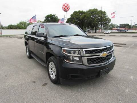 2015 Chevrolet Suburban for sale at United Auto Center in Davie FL