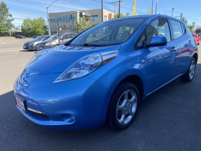 2011 Nissan LEAF for sale at Salem Motorsports in Salem OR