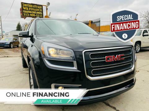 2013 GMC Acadia for sale at 3 Brothers Auto Sales Inc in Detroit MI