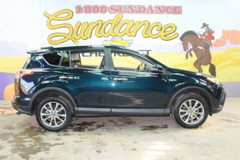 2018 Toyota RAV4 for sale at Sundance Chevrolet in Grand Ledge MI