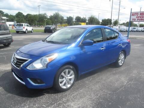 2015 Nissan Versa for sale at Blue Book Cars in Sanford FL