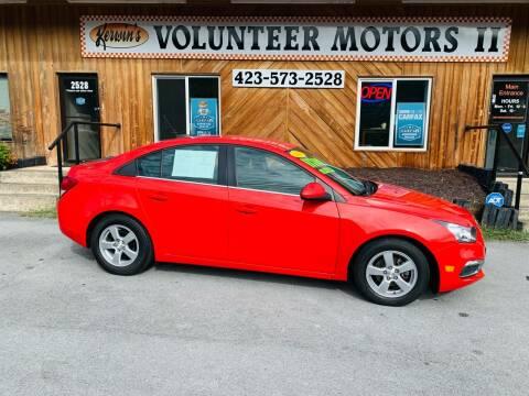 2016 Chevrolet Cruze Limited for sale at Kerwin's Volunteer Motors in Bristol TN