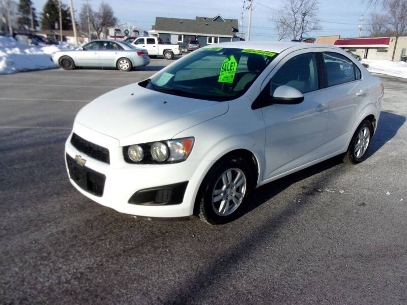 2015 Chevrolet Sonic for sale at Ideal Auto Sales, Inc. in Waukesha WI