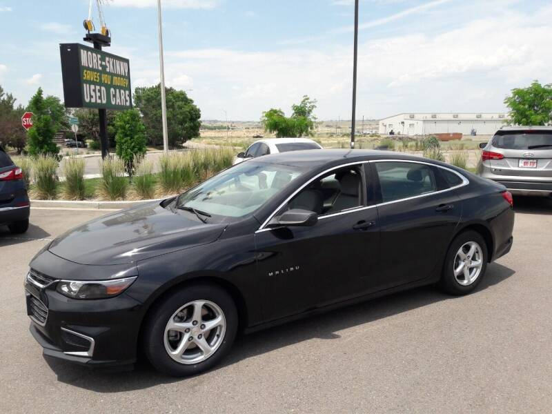 2017 Chevrolet Malibu for sale at More-Skinny Used Cars in Pueblo CO