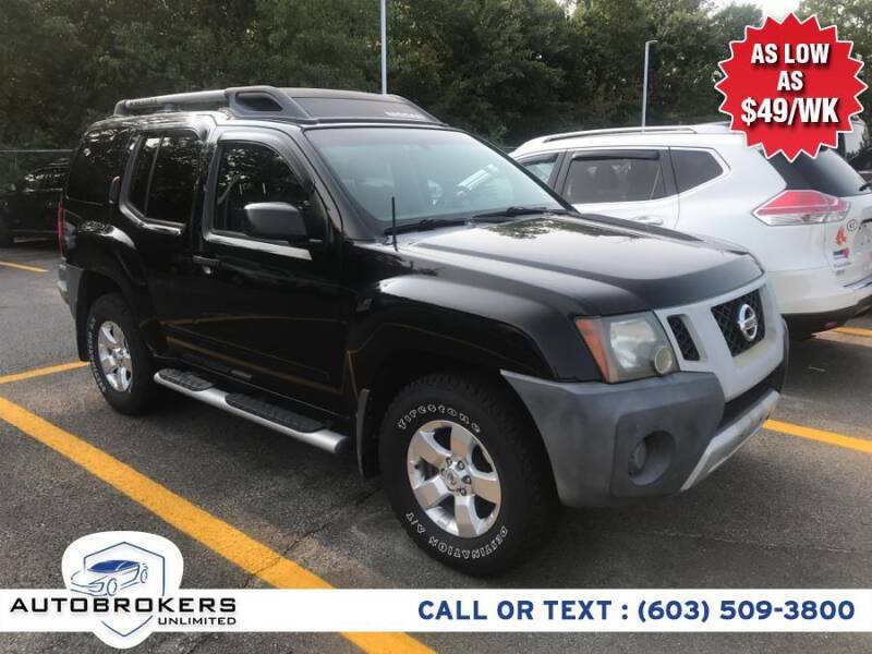 2009 Nissan Xterra for sale at Auto Brokers Unlimited in Derry NH