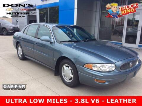 2000 Buick LeSabre for sale at DON'S CHEVY, BUICK-GMC & CADILLAC in Wauseon OH