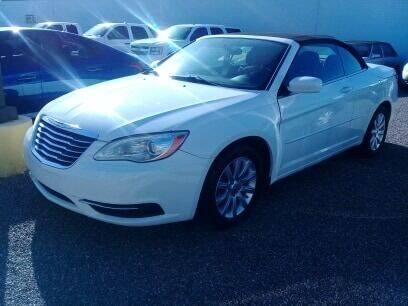 2011 Chrysler 200 Convertible for sale at 1ST AUTO & MARINE in Apache Junction AZ