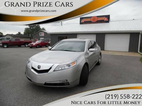 2011 Acura TL for sale at Grand Prize Cars in Cedar Lake IN