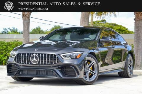 2019 Mercedes-Benz AMG GT for sale at Presidential Auto  Sales & Service in Delray Beach FL