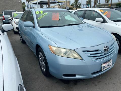 2007 Toyota Camry for sale at North County Auto in Oceanside CA