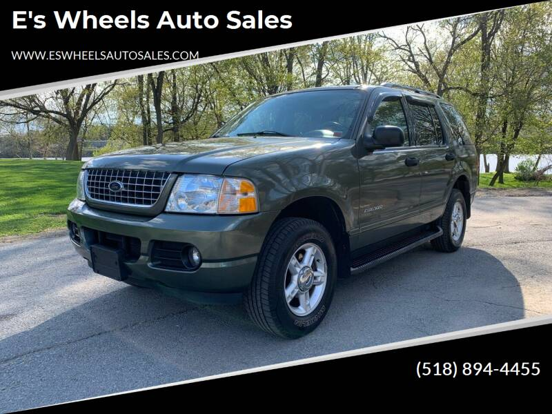 2004 Ford Explorer for sale at E's Wheels Auto Sales in Hudson Falls NY