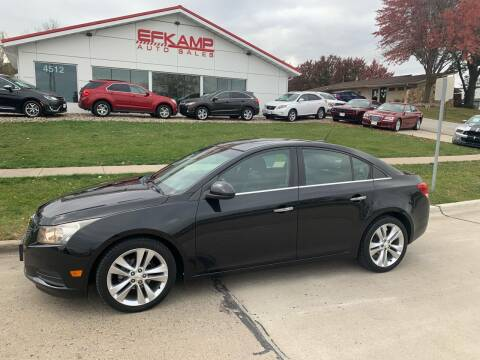 2011 Chevrolet Cruze for sale at Efkamp Auto Sales LLC in Des Moines IA