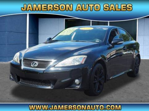 2011 Lexus IS 250 for sale at Jamerson Auto Sales in Anderson IN