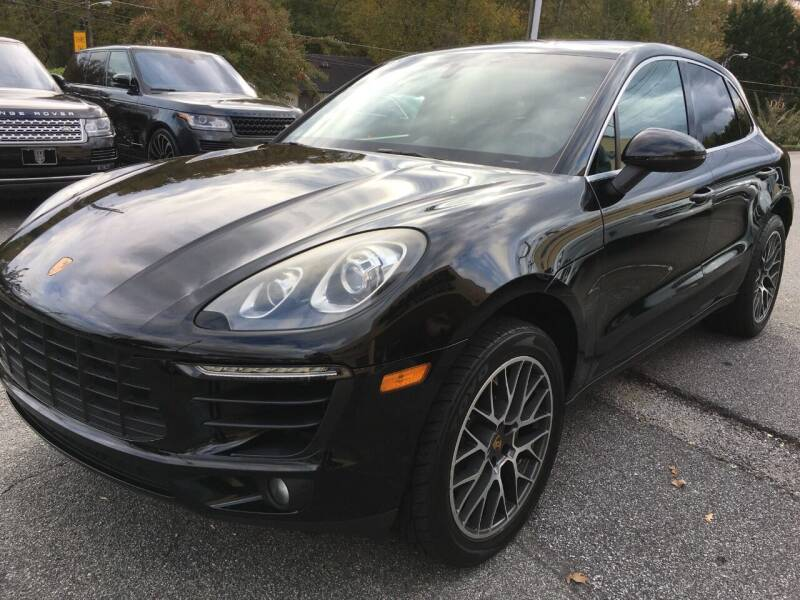 2015 Porsche Macan for sale at Highlands Luxury Cars, Inc. in Marietta GA