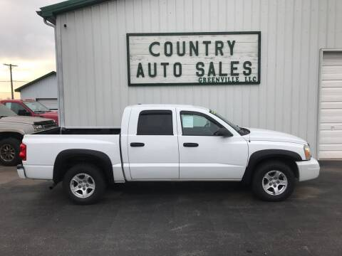 2007 Dodge Dakota for sale at COUNTRY AUTO SALES LLC in Greenville OH