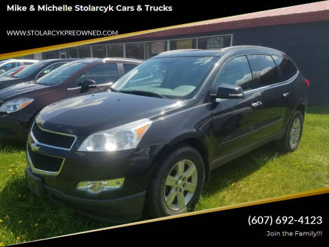 2010 Chevrolet Traverse for sale at Mike and Michelle Stolarcyk Cars and Trucks in Whitney Point NY