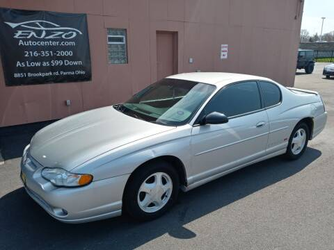 2003 Chevrolet Monte Carlo for sale at ENZO AUTO in Parma OH