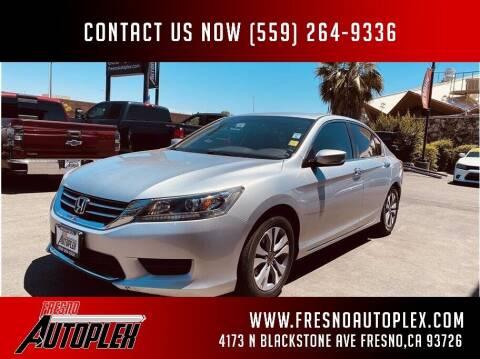 2015 Honda Accord for sale at Fresno Autoplex in Fresno CA