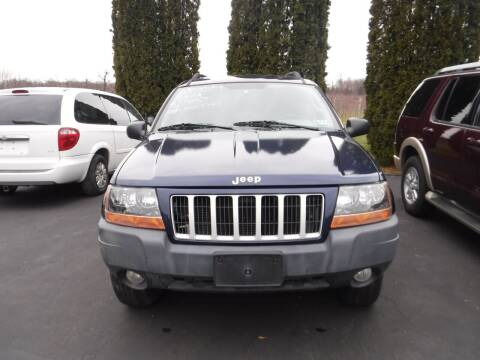 2004 Jeep Grand Cherokee for sale at Vicki Brouwer Autos Inc. in North Rose NY