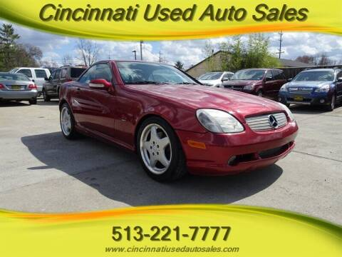 2001 Mercedes-Benz SLK for sale at Cincinnati Used Auto Sales in Cincinnati OH