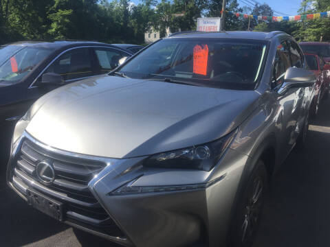 2015 Lexus NX 200t for sale at MELILLO MOTORS INC in North Haven CT