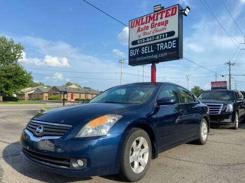 2008 Nissan Altima for sale at Unlimited Auto Group in West Chester OH