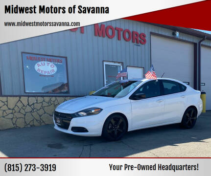 2015 Dodge Dart for sale at Midwest Motors of Savanna in Savanna IL