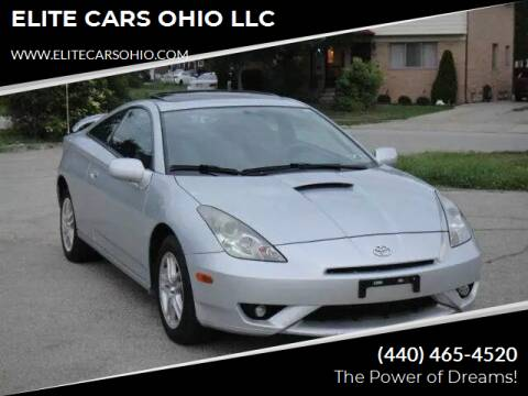2003 Toyota Celica for sale at ELITE CARS OHIO LLC in Solon OH