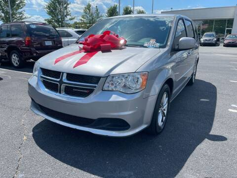 2017 Dodge Grand Caravan for sale at Charlotte Auto Group, Inc in Monroe NC