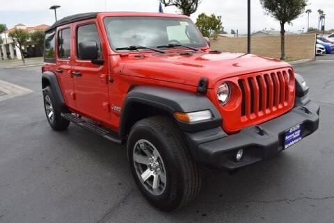 2018 Jeep Wrangler Unlimited for sale at DIAMOND VALLEY HONDA in Hemet CA