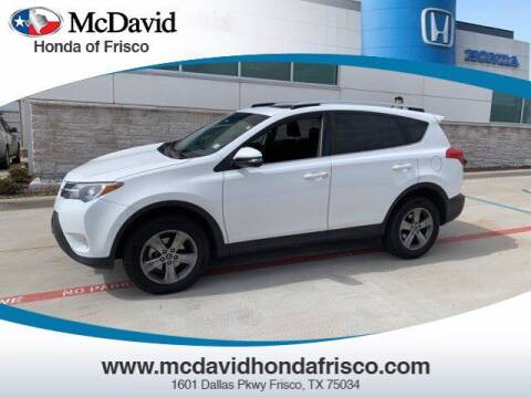 2015 Toyota RAV4 for sale at DAVID McDAVID HONDA OF IRVING in Irving TX