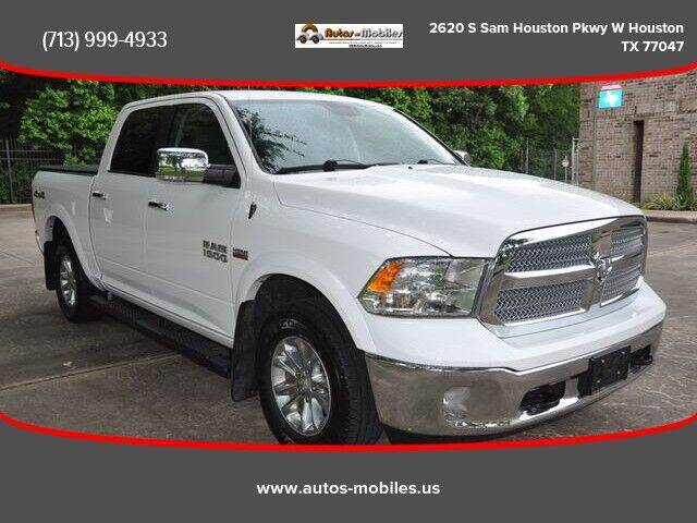 2018 RAM Ram Pickup 1500 for sale at AUTOS-MOBILES in Houston TX