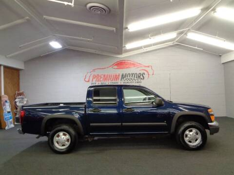 2007 Chevrolet Colorado for sale at Premium Motors in Villa Park IL