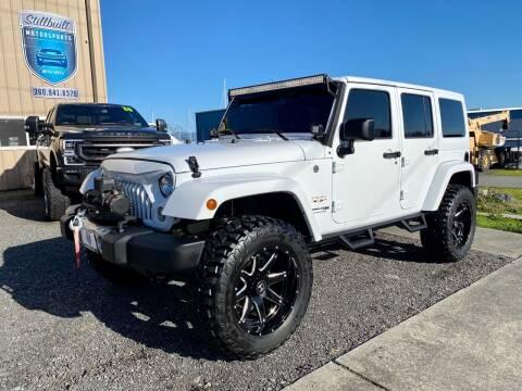 2018 Jeep Wrangler JK Unlimited for sale at STILLBUILT MOTORSPORTS in Anacortes WA