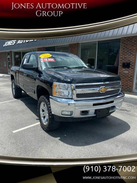 2012 Chevrolet Silverado 1500 for sale at Jones Automotive Group in Jacksonville NC