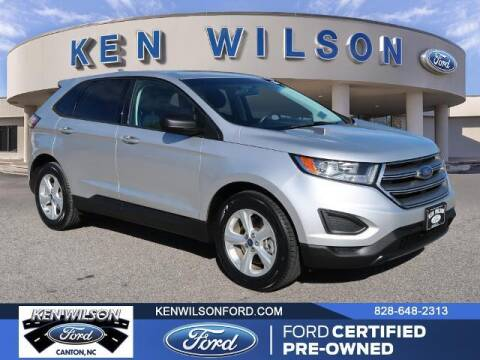 2017 Ford Edge for sale at Ken Wilson Ford in Canton NC