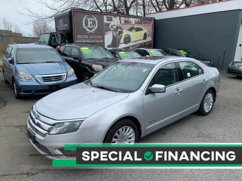 2010 Ford Fusion Hybrid for sale at ELITE MOTORS in West Haven CT