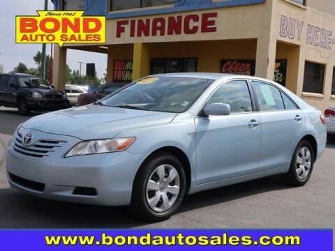 2007 Toyota Camry for sale at Bond Auto Sales in St Petersburg FL