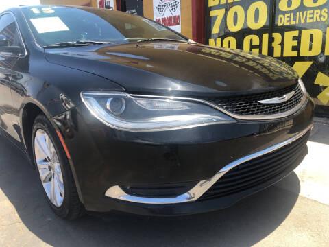 2015 Chrysler 200 for sale at Sunday Car Company LLC in Phoenix AZ