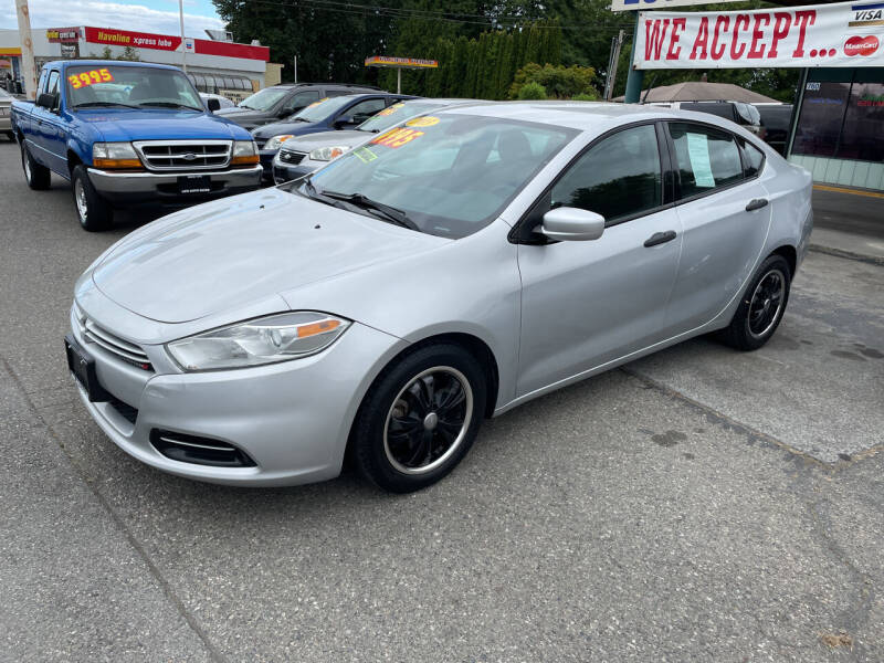 2013 Dodge Dart for sale at Low Auto Sales in Sedro Woolley WA