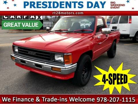 1987 Toyota Pickup for sale at RT28 Motors in North Reading MA