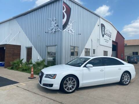 2012 Audi A8 L for sale at Barrett Auto Gallery in San Juan TX