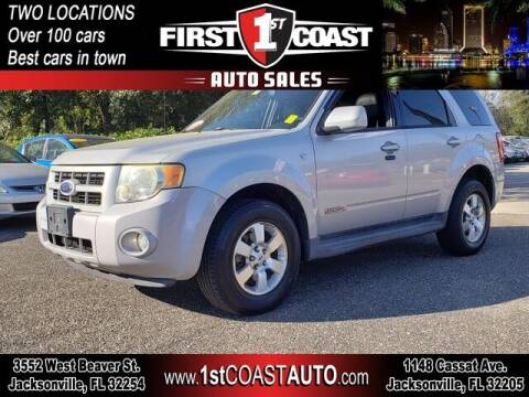 2008 Ford Escape for sale at 1st Coast Auto -Cassat Avenue in Jacksonville FL