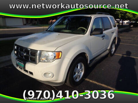2012 Ford Escape for sale at Network Auto Source in Loveland CO