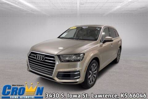2018 Audi Q7 for sale at Crown Automotive of Lawrence Kansas in Lawrence KS